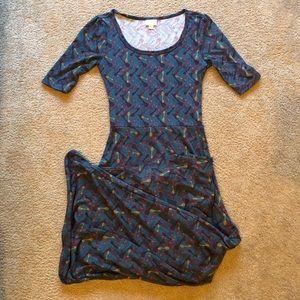 LuLaRoe xs Ana maxi dress